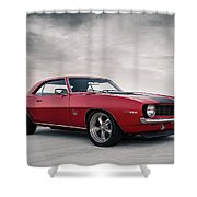 69 Camaro Shower Curtain