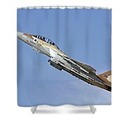 An F-15i Raam Of The Israeli Air Force Shower Curtain