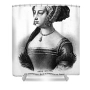Anne Boleyn (1507-1536) Shower Curtain