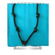 Aphrodite Melainis Necklace Shower Curtain