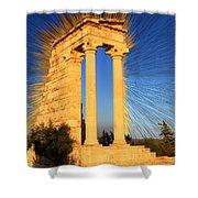 Apollo Sanctuary - Cyprus Shower Curtain