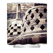 Borobudur Temple Shower Curtain