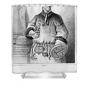 Carolus Linnaeus (1707-1778) Shower Curtain