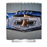 Chevrolet Emblem Shower Curtain