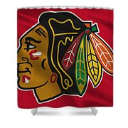 Chicago Blackhawks Uniform Shower Curtain
