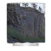 Devils Postpile National Monument Shower Curtain