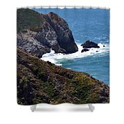 Devil's Slide Hike Shower Curtain