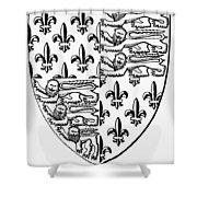 Edward IIi (1312-1377) Shower Curtain