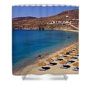 Elia Beach Shower Curtain