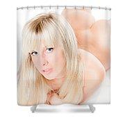 Erotic Nude Shower Curtain