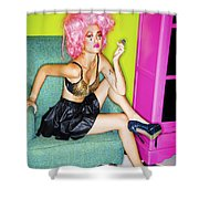 Fashion Girl Shower Curtain