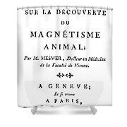 Franz Mesmer (1734-1815) Shower Curtain