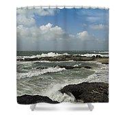 Godrevy Lighthouse Shower Curtain