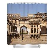Hampi Temple Shower Curtain