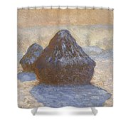 Haystacks Shower Curtain