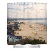Hengistbury Head - England Shower Curtain