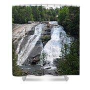 High Falls North Carolina Shower Curtain
