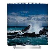 Hookipa Maui North Shore Hawaii Shower Curtain