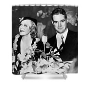 Howard Hughes (1905-1976) Shower Curtain