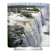 Iquazu Falls - South America Shower Curtain