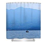 Lago Di Iseo Shower Curtain