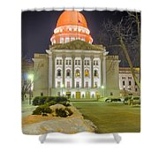 Madison Capitol Shower Curtain by Steven Ralser