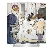 Mother Goose, 1916 Shower Curtain