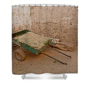 Mud Brick Village Shower Curtain