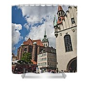 Munich Germany Shower Curtain
