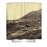 Nevada Virginia City Shower Curtain
