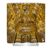 Palais Garnier Interior Shower Curtain