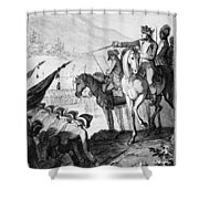 Saratoga: Surrender, 1777 Shower Curtain