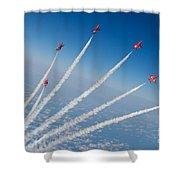 7 Ship Break Shower Curtain