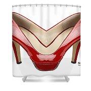 Shoe Love Shower Curtain