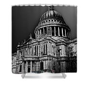 St Pauls Cathedral London Art Shower Curtain