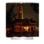 St Simons Island Lighthouse 2 Shower Curtain