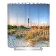 Sandy Shore Shower Curtain