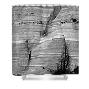 New Mexico - Tent Rocks Shower Curtain