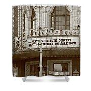 Terre Haute - Indiana Theater Shower Curtain