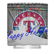 Texas Rangers Shower Curtain
