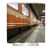 Train Station Shower Curtain