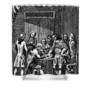 Treaty Of Paris, 1783 Shower Curtain