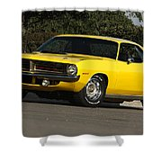 '70 Hemi 'cuda Shower Curtain
