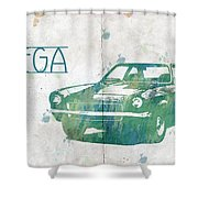 71 Vega Shower Curtain