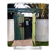 717 Gate Open Coronado California Shower Curtain