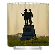 73rd Ny Infantry 2nd Fire Zouaves Shower Curtain