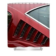 Mustang Fastback Detail Shower Curtain