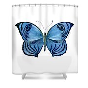 75 Capanea Butterfly Shower Curtain by Amy Kirkpatrick
