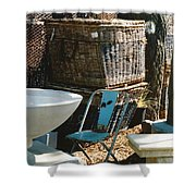 Among The Ruins 9 Shower Curtain