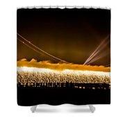 75th Anniversary Of The Golden Gate Bridge  Shower Curtain